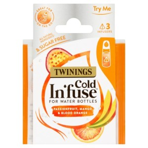 Twinings Cold In'fuse Mango Passionfruit & Orange Trial Pack 3 per pack