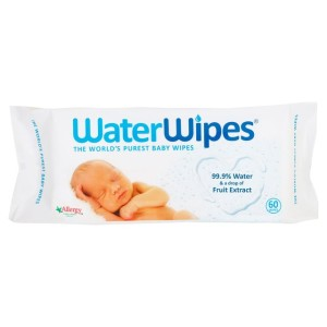 WaterWipes Sensitive Baby Wipes 60 per pack