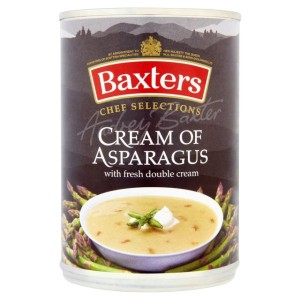 Baxters Chef Selections  Cream of Asparagus Soup 400g
