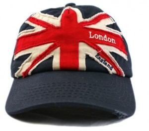 London England Union Jack Baseball Cap One Size