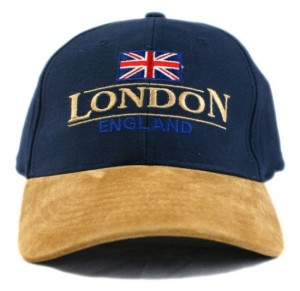 London England Brushed Cotton Baseball Cap One Size