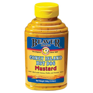 Beaver Coney Island Hot Dog Mustard 354g