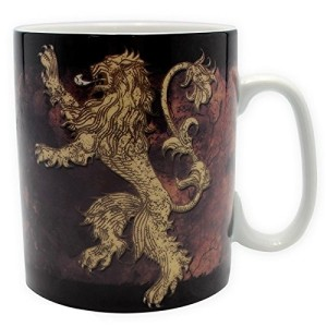 Game of Thrones Large Porcelain Lannister Mug 460ml