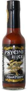 Psycho Juice Extreme Ghost Pepper Killer Hot Sauce 148ml