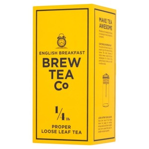 Brew Tea Co English Breakfast Proper Loose Leaf Tea 113g