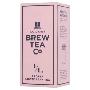 Brew Tea Co Earl Grey Proper Loose Leaf Tea 113g