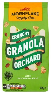 Mornflake Crunch Orchard Granola with Sultanas & Apples 500g