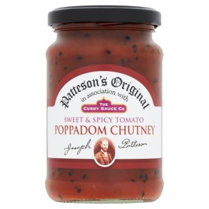 The Curry Sauce Co. Spicy Tomato Poppadom Chutney 300g
