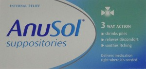 Anusol Suppositories - Haemorrhoid - Piles Treatment - 12 Pack