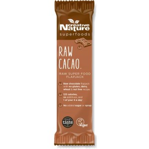 Creative Nature Raw Cacao Superfood Flapjack 38g