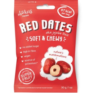 Abakus Foods Jujube Fruit Red Dates Soft & Chewy 30g