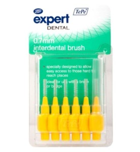 Boots Expert TePe 0.7mm Interdental Brush - set of 6