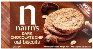 Nairns Dark Chocolate Chip Oat Biscuits 200g