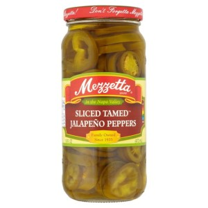 Mezzetta Sliced Tamed Jalapeno Peppers 425g