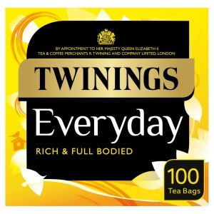 Twinings Everyday Tea Bags 100 per pack