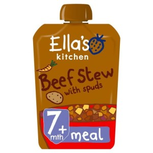Ella's Kitchen Organic Beef Stew with Spuds Stage 2 130g