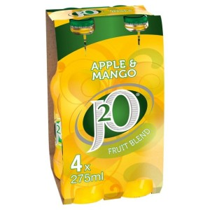 J2o Apple & Mango 4 x 275ml - J2o jabłko&mango