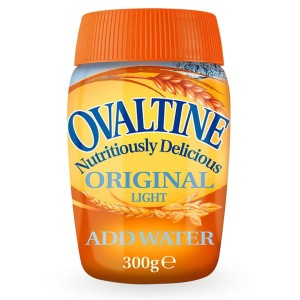 Ovaltine Original Malt Drink Light Just Add Water 300g