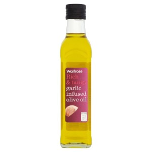 Garlic Infused Olive Oil Waitrose 250ml