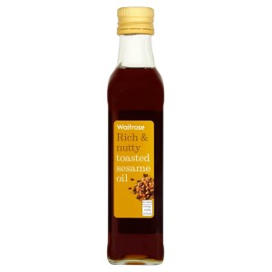 Cooks' Ingredients Toasted Sesame Oil Waitrose 250ml