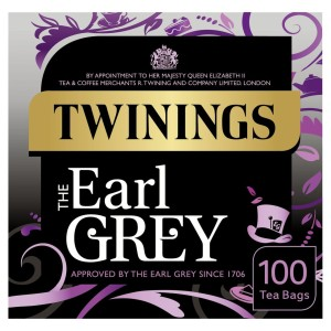 Twinings Earl Grey 100 Tea Bags per pack