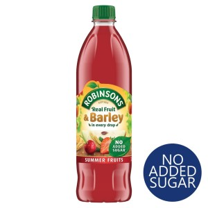 Robinsons Summer Fruits Fruit & Barley No Added Sugar 1L