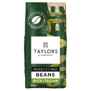 Taylors of Harrogate Rich Italian Coffee Beans 227g