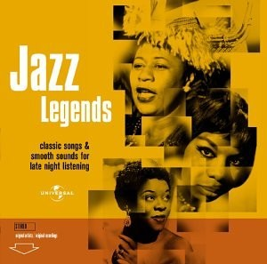 Jazz Legends - Classic Songs & Smooth Sounds for Late Night Listening [CD]