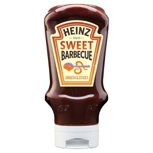Heinz Sticky Barbecue Sauce Top Down 500g