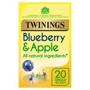 Twinings Blueberry & Apple Tea 20 per pack