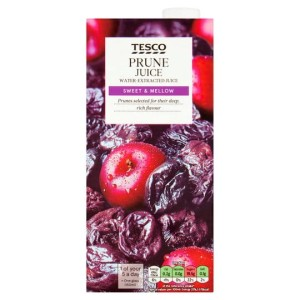 Tesco Prune Juice Water -Extracted Juice 1 Litre