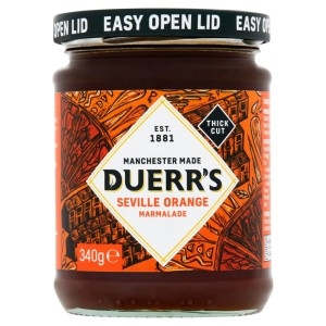 Duerr's Thick Cut Seville Orange Marmalade 340g