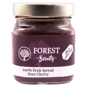 Forest Bounty 100% Sour Cherry Fruit Spread 340g