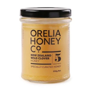 Orelia New Zealand Pure Wild Clover Honey 250g