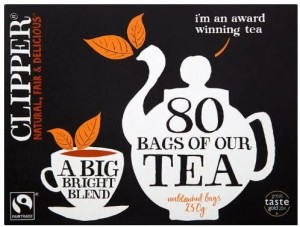 Clipper Fairtrade Everyday Tea Bags 80 per pack