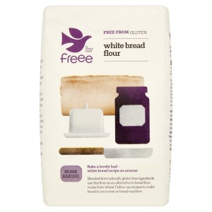 Doves Farm Gluten & Wheat Free White Bread Flour 1 kg
