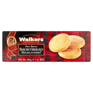 Walkers Pure Butter Highlanders Shortbread 200g