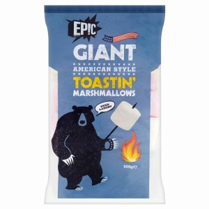 Epic Giant American Style Toastin' Marshmallows 600g
