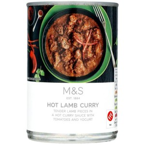 M&S Hot Lamb Curry 400g