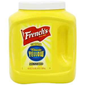 French's Classic American Yellow Mustard 6 x 2.9kg