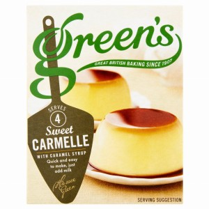 Green's Sweet Carmelle with Caramel Syrup Mix 70g
