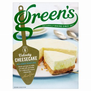 Green's Velvety Cheesecake on a Crunchy Biscuit Base Mix 259g