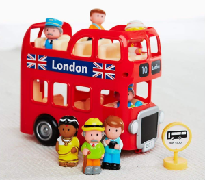 Early Learning Centre Figurines Happy Land London Bus Toy Set