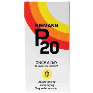 Riemann P20 Once A Day Sun Protection Spray SPF10+ 200ml