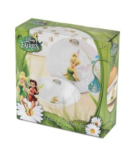 Disney Tinkerbell - Fairies 2-Piece Breakfast Set