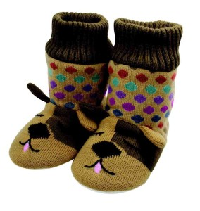 Aroma Home Women's Knitted Botties - Dog
