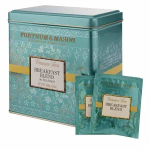 Fortnum & Mason Breakfast Blend 50 Tea Bag Tin