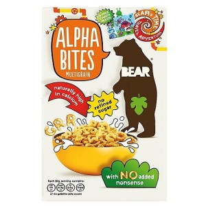 Bear Alphabites Multigrain Shapes Cereal 350g