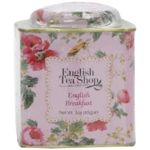 English Tea Shop English Breakfast Floral Tin Leaf Tea 85g