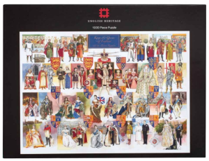Kings and Queens of England 1000 Piece Jigsaw Puzzle